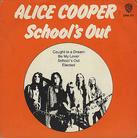Schools Out Alice Cooper