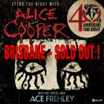 Alice Cooper Brisbane Sold Out