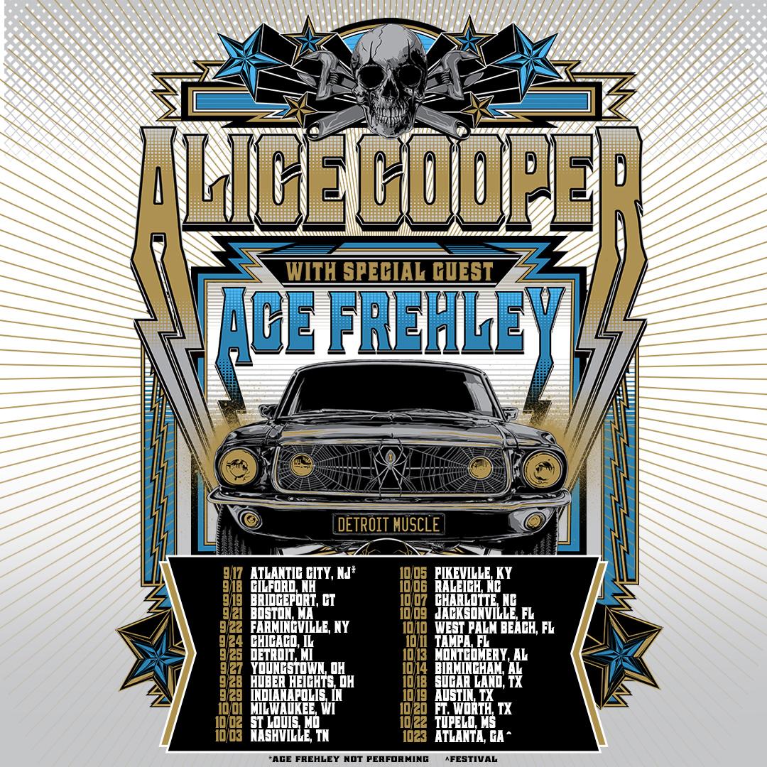 Alice Cooper 2021 Tour Dates
